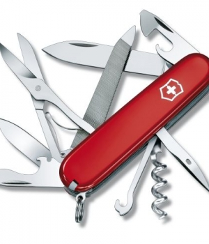 Couteau Victorinox Mountaineer Rouge 1.3743