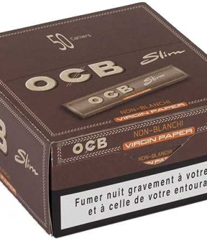 B.50 CAHIERS OCB SLIM VIRGIN