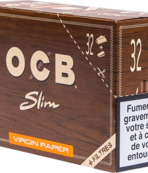 B.32 CAHIERS 32F VIRGIN SLIM + FILTRE